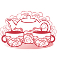 Tea vector image
