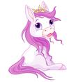 Princess horses vector image vector image