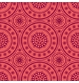 Kaleidoscopic floral pattern vector image