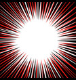 abstract background with red and black radial vector image