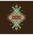 colorful decorative ethnic pattern vector image