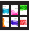 Abstract background Set of simple light and clear vector image