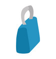 isolated cute bag vector image
