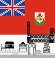 Bermuda Islands vector image vector image
