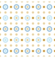 Blue and beige circles vector image