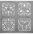 Ornaments vector image