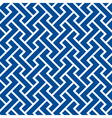 pattern seamless chevron blue vector image