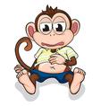 A monkey vector image