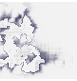 Abstract halftones vector image