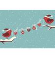 Christmas Birds vector image