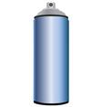 Spray bottle blue vector image