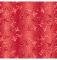 Seamless hot floral pattern vector image vector image