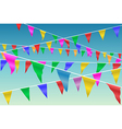 Bunting Flags vector image