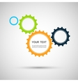 color design concept gears vector image