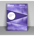 Design a brochure or booklet with vector image