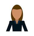 business woman avatar icon image vector image