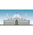 Al Fateh Grand Mosque in Manama vector image