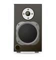 Black Audio Speaker vector image