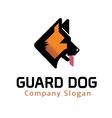 Guard Dog Design vector image