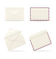 Envelopes icon on white background vector image