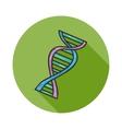 Human DNA icon vector image