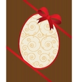 Easter beautiful card vector image vector image