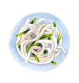 Noodles vector image