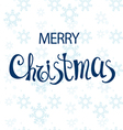 Greeting card with Christmas vector image