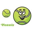 Tennis icon or emblem vector image vector image