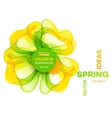 Abstract spring background Template brochure vector image