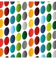 colored circle pattern vector image