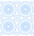abstract geometric seamless pattern from circles vector image