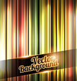 Colorful and shiny stripes background With place vector image