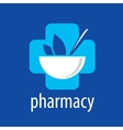 logo pharmacy vector image vector image