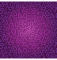 purple number background vector image vector image