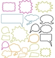 chat signs vector image