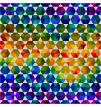 seamless abstract pattern of color shapes vector image