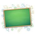 school board and education symbols vector image vector image
