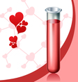 Love chemistry vector image