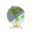 School world globe vector image
