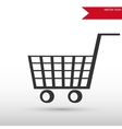 Trolley icon vector image