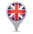 uk flag pointer vector image