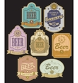 labels for beer vector image