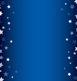 Stars decorative frame vector image