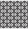 Seamless pattern of intersecting corners vector image