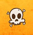 Skull and Bones Cartoon vector image