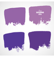 Grunge ink hand-drawn colorful shapes vector image