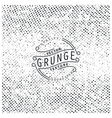 Halftone grunge texture vector image