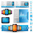 Web template icons UI vector image
