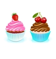 happy Birthday cake sweet birthday vector image